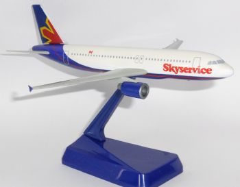 Airbus A320 Skyservice Canada Vintage Wooster Collectors Model Scale 1:200 E